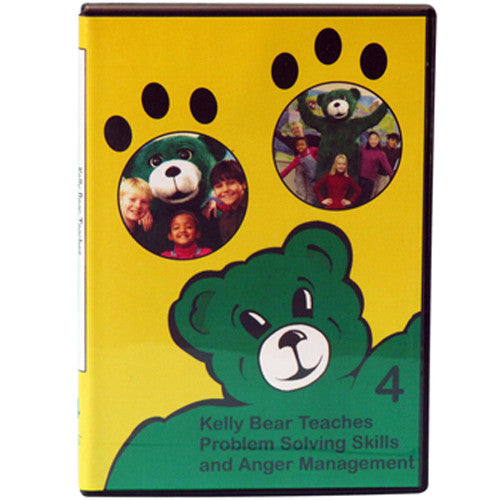Kelly Bear Teaches About Problem-Solving Skills and Anger Management DVD