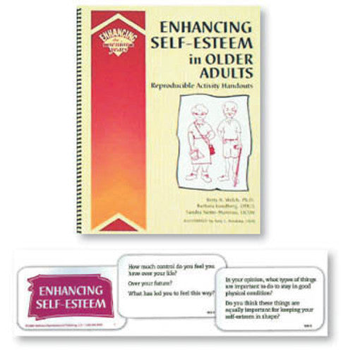 Enhancing Self-Esteem in Older Adults Book and Cards