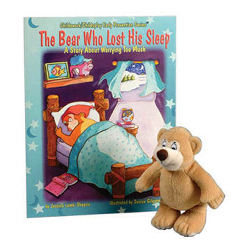 The Bear Who Lost His Sleep Book & Plush