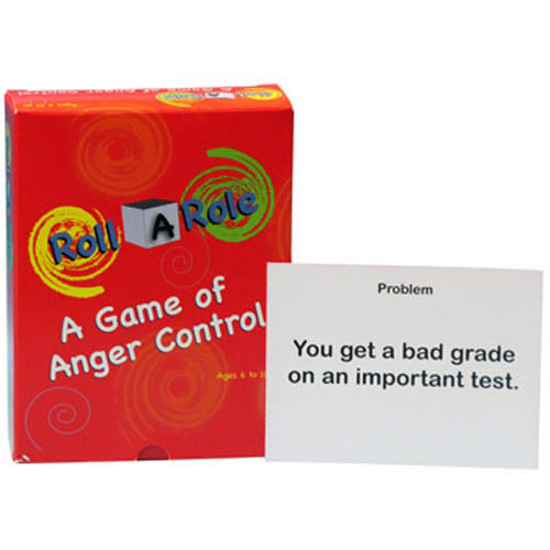 Roll A Role: An Anger-Management Game (Cards Only)