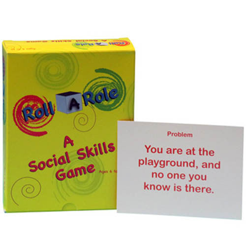 Roll A Role: A Social Skills Game (Cards Only)