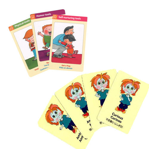Self-Calming Cards and Feeling Elf Cards Bundle