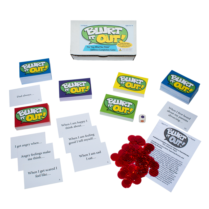 "Blurt It Out! The ""Say What You Think"" Sentence Completion Game"