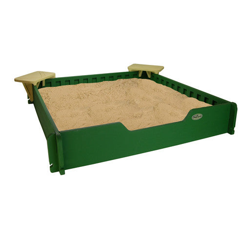 5' by 5' Sandbox With Cover