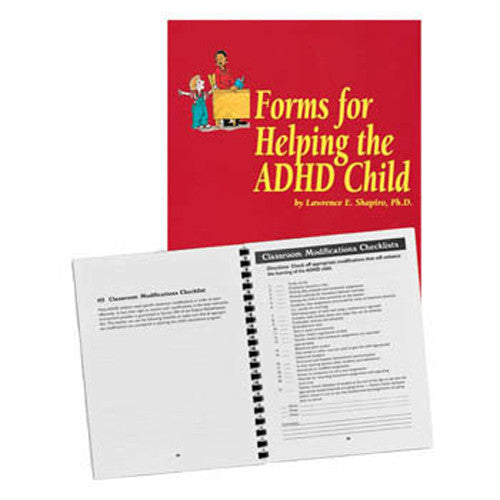 Forms for Helping the ADHD Child