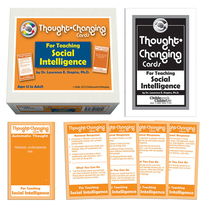 Thought-Changing Cards - For Teaching Social Intelligence