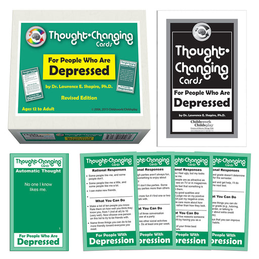 Thought-Changing Cards - For People Who Are Depressed