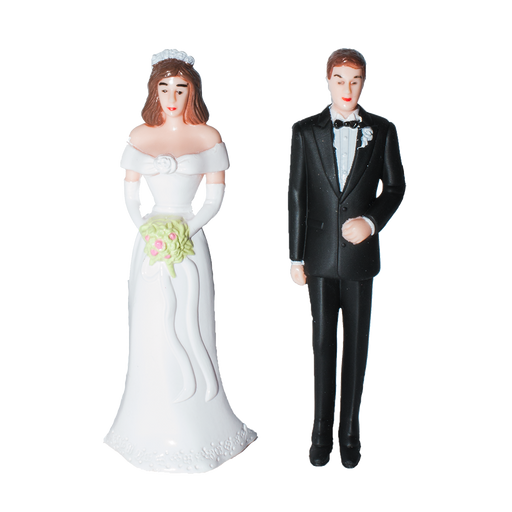 Bride and Groom Set - Caucasian