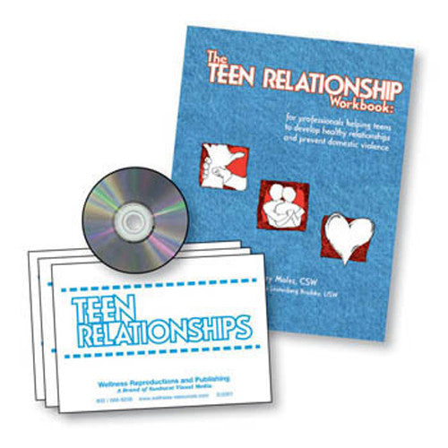 The Teen Relationship Workbook and Cards Set
