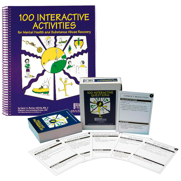 100 Interactive Activities Book and Cards Set