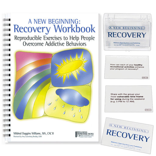 A New Beginning: A Recovery Workbook & A New Beginning Recovery Cards