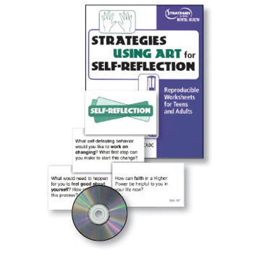 Strategies for Using Art for Self-Reflection Book and Cards Set