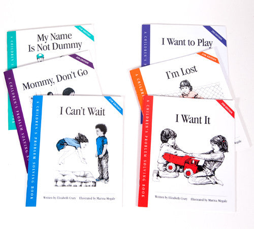 All Six books in the Children's Problem Solving Series Set