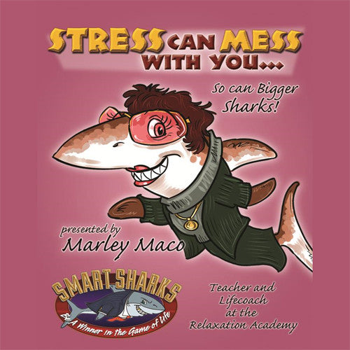 Smart Sharks - Stress Can Mess with You Card Game