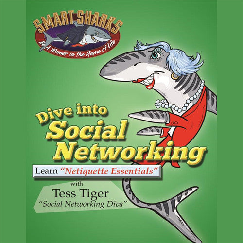 Smart Sharks - Dive into Social Networking: Netiquette Essentials Card Game*