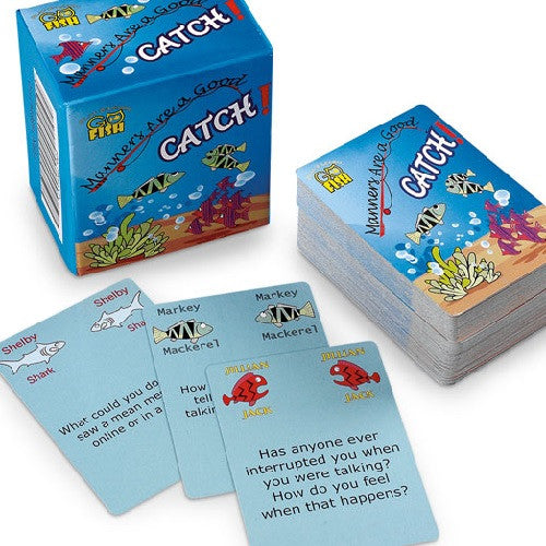 Go Fish: Manners are a Good Catch Card Game