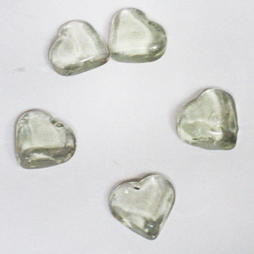 Hearts, Glass (Set of 5)