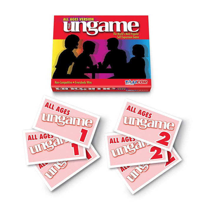 All Ages Ungame Cards and Pocket Game