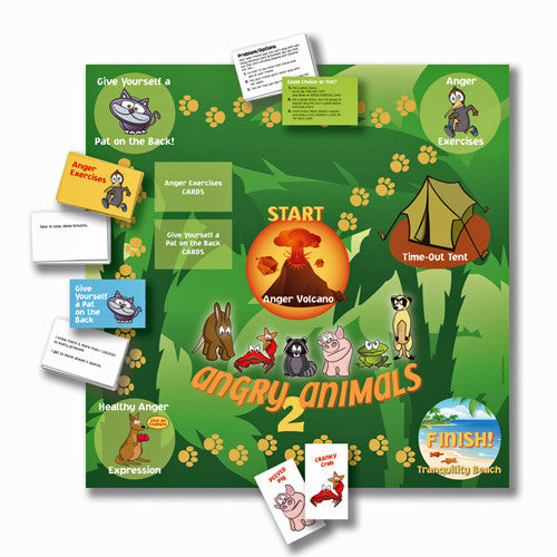 Angry Animals 2: A Board Game Teaching Healthy Expression of Anger