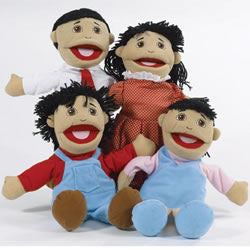 Asian Puppet Family