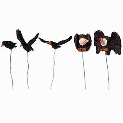 Birds, Spooky (Set of 5)