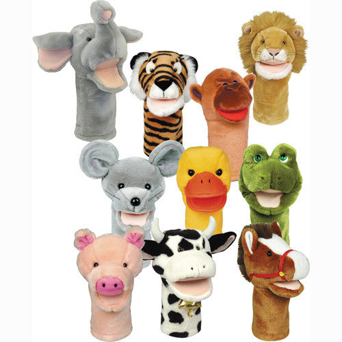 Big Mouth Animal Puppet Set (10 puppets)++