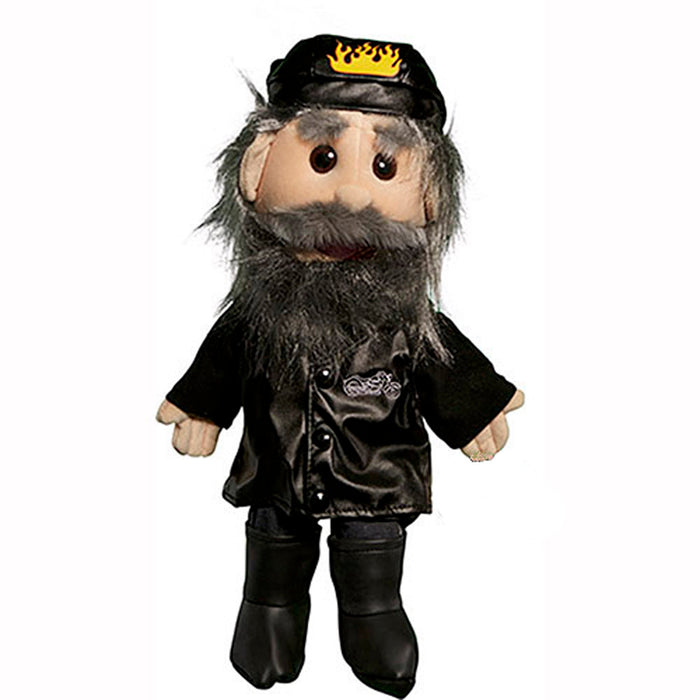 Biker in Leather/Jeans Puppet