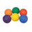 Set of 6 Colored Playground Balls