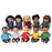 Multi-Ethnic 13 Inch Doll Set--Ten Dolls!