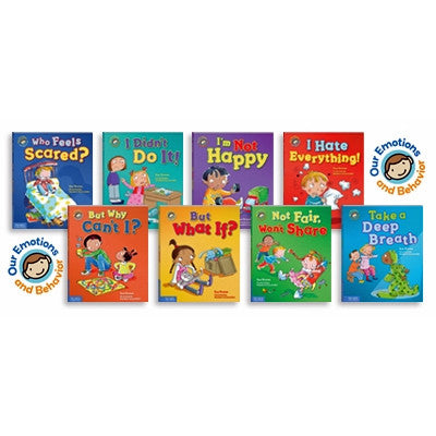 Special Savings: Buy All Eight Emotions and Behavior Books