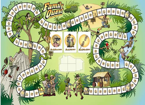 Family Quest: A Family Therapy Board Game