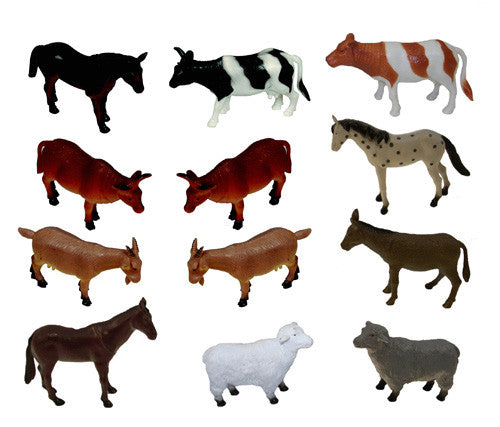 Large Farm Animals (Set of 12)