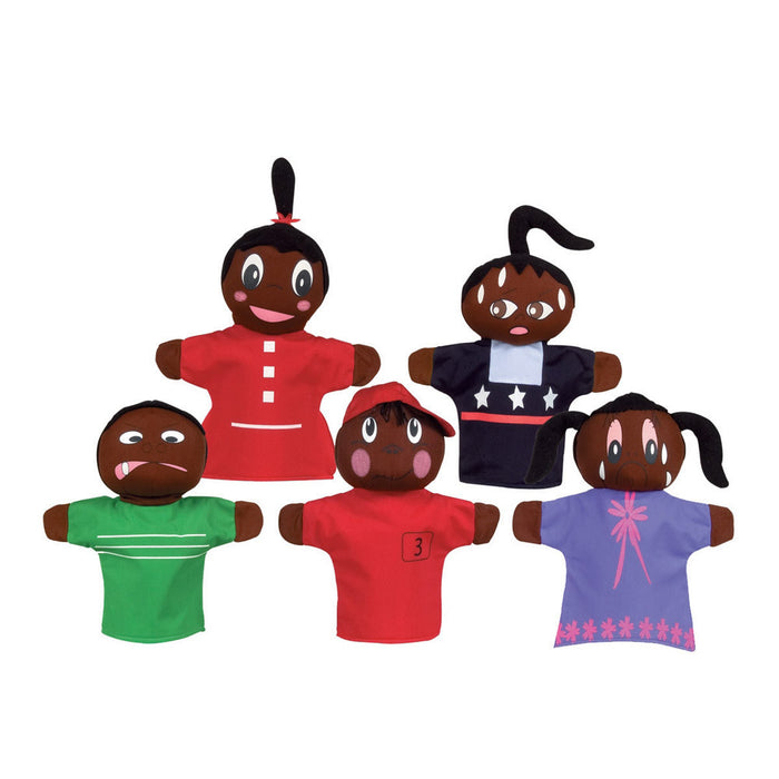 How Am I Feeling? Hand Puppets, African-American