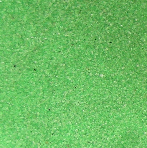 Classic Florescent Green Therapy Sand, 25 Pounds