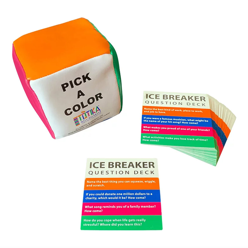 Totika Cube Game with Ice-Breaker Cards