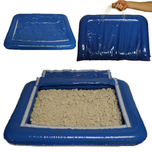 Twelve Inflatable Trays (no sand)
