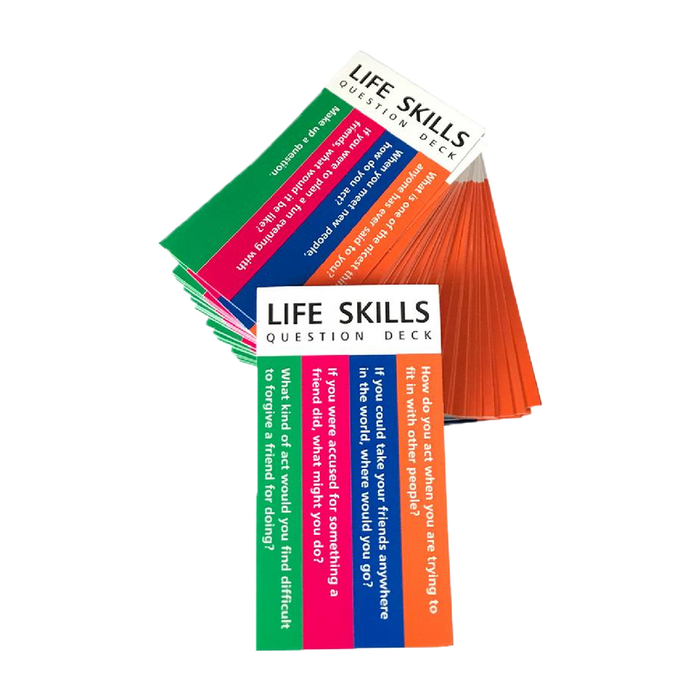 Life Skills Question Deck (for Totika)