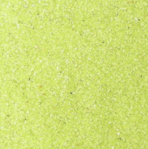 Classic Lime Yellow Therapy Sand, 25 pounds