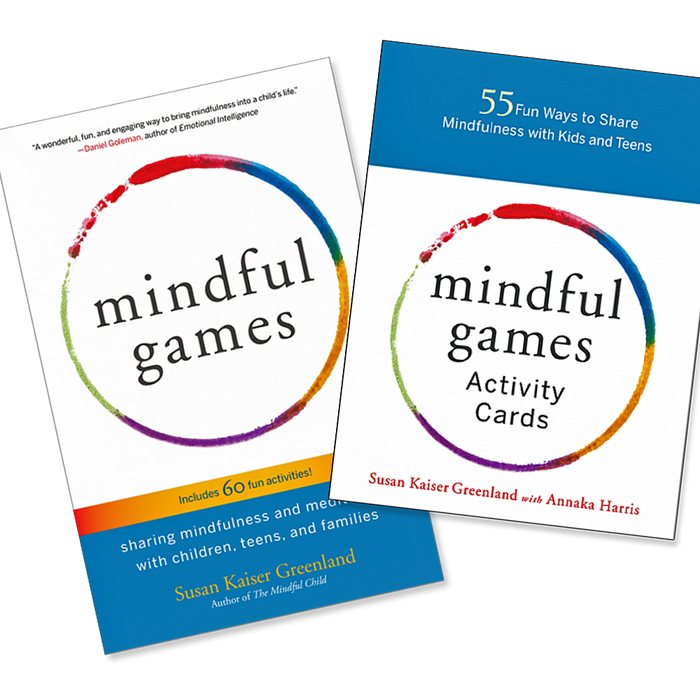 Mindful Games Set - Book & Activity Cards