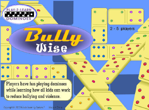 Bully Wise: Play-2-Learn Dominoes