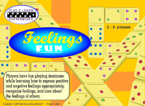 Feelings Fun: Play-2-Learn Dominoes