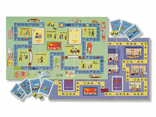 Peacetown: A Conflict Resolution Game