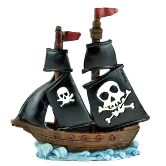 Pirate Ship with Skull & Cross-bones