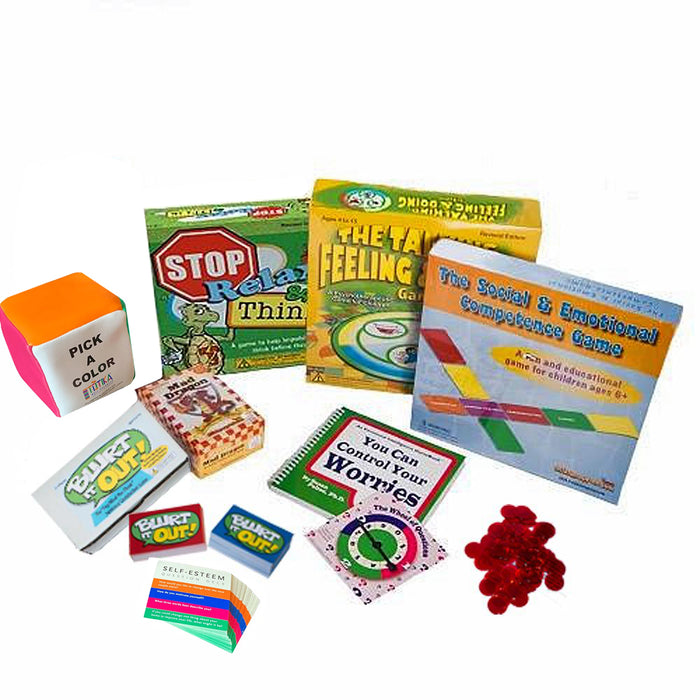 Premium Play Therapy Game Package by Dr. Gary