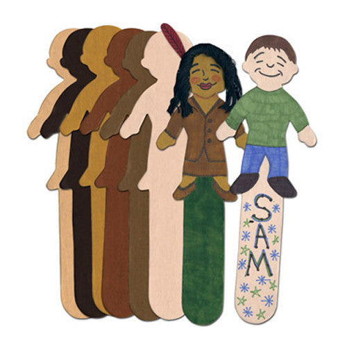 Skin Tone Kids (Craft Sticks)