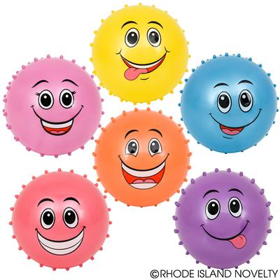 Knobby Emoticon Stress Balls (Set of 10)