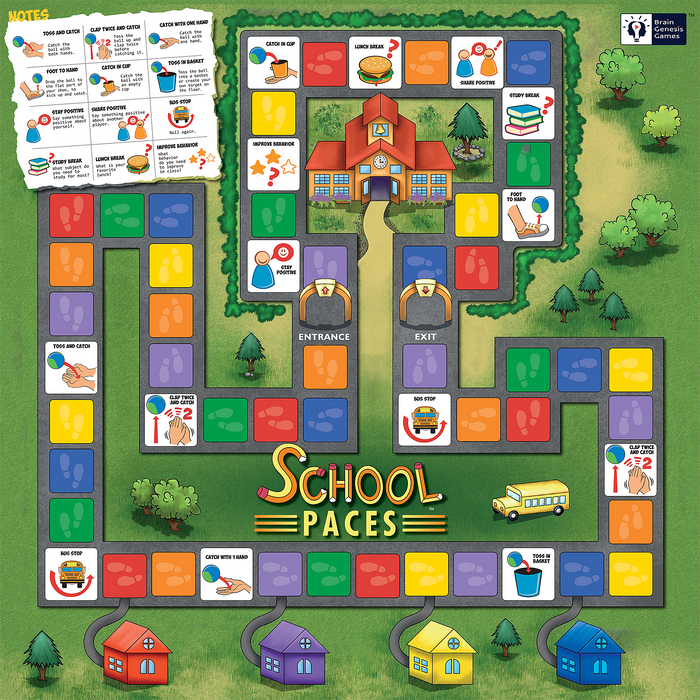 School Paces (emotions & social skills)
