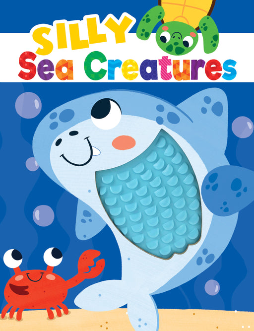 Silly Sea Creatures Sensory Silicone Touch and Feel Board Books