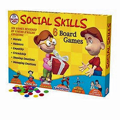 Social Skills Board Games - Six Board Games