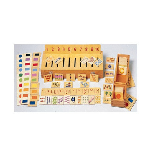 Sorting Box Combination for Counting & Color